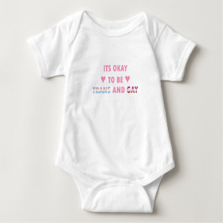 Body Para Bebê É aprovado ser o transporte e o gay (v4)