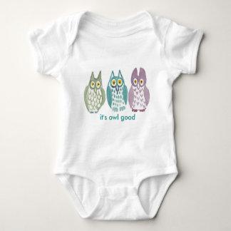 """Body Para Bebê """"É Bodysuit do bebê da coruja da coruja bom"""""""