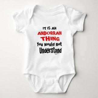 Body Para Bebê É design ANDORRANO da coisa