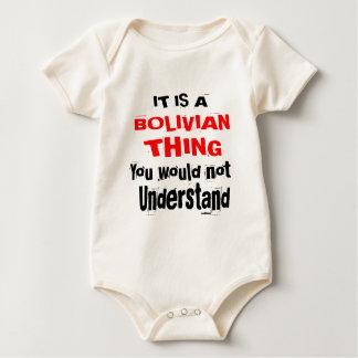 BODY PARA BEBÊ É DESIGN BOLIVIANO DA COISA