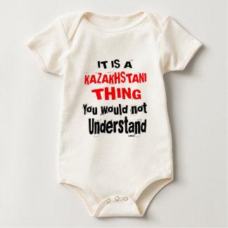 BODY PARA BEBÊ É DESIGN DA COISA DE KAZAKHSTANI