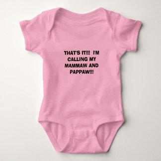 Body Para Bebê É ISSO.!!  Eu ESTOU CHAMANDO MEUS MAMMAW E