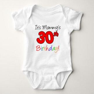 Body Para Bebê É o aniversário de 30 anos da mamã