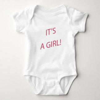 Body Para Bebê É um bebê da menina