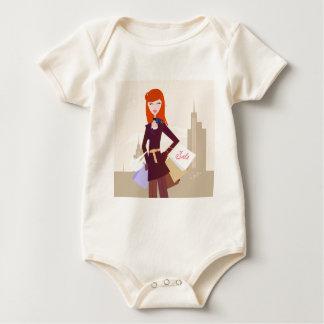 Body Para Bebê Edição dos desenhistas: Menina da compra