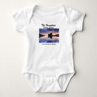 Body Para Bebê Eilean Donan - clãs MacKenzie/MacRae