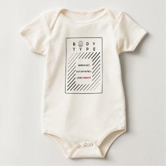 Body Para Bebê Elabora rosquinhas dos amores