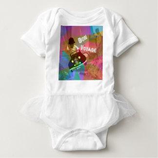 Body Para Bebê Ele viagem demasiado fácil sobre o mundo