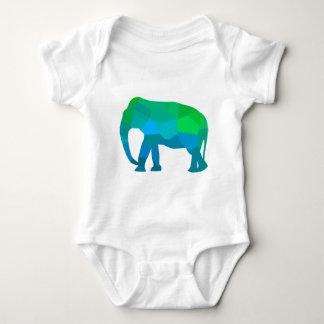 Body Para Bebê Elefante 1 do mosaico