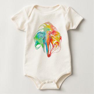 Body Para Bebê elefante (2 lados)