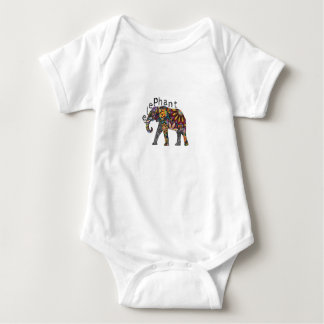 Body Para Bebê elefante africano