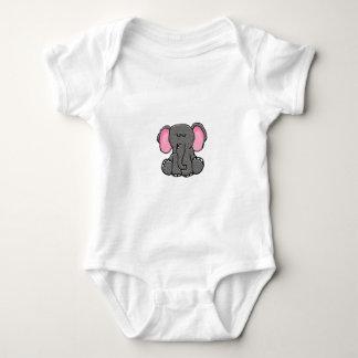 Body Para Bebê Elefante sonolento