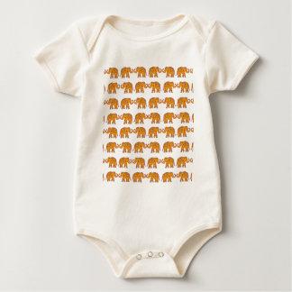 Body Para Bebê Elefantes indianos