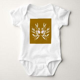 Body Para Bebê Elementos do design que Wedding
