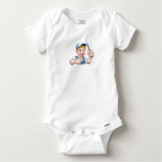 Body Para Bebê Eletricista do trabalhador manual dos desenhos
