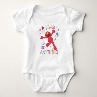 Body Para Bebê Elmo   eu posso fazer qualquer coisa