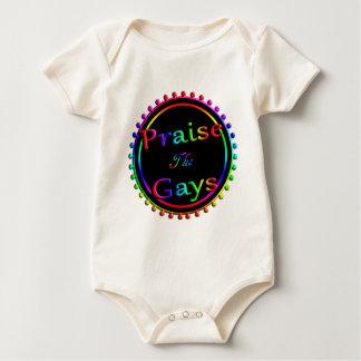 Body Para Bebê Elogie os gay