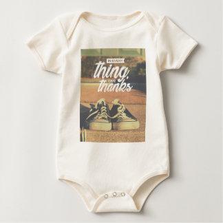 Body Para Bebê Em tudo dê obrigados