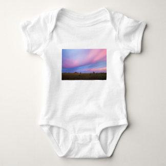 Body Para Bebê Embers no céu sobre marismas de Florida