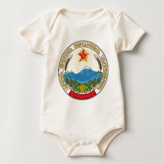 Body Para Bebê Emblema da república socialista soviética arménia