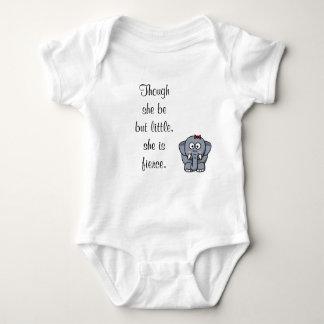 Body Para Bebê Embora seja mas pouco, é feroz