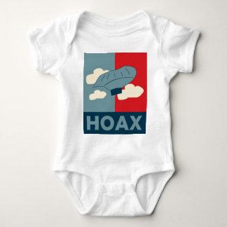 Body Para Bebê Embuste do menino do balão (paródia de Obama)