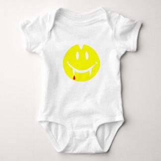 Body Para Bebê emoji dracula do vampiro