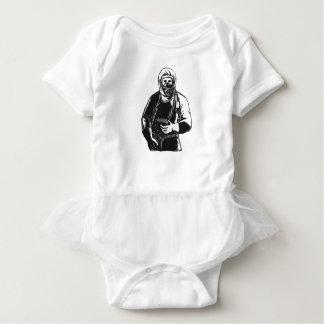 Body Para Bebê EMT que veste o terno Scratchboard de Hazmat