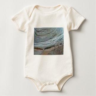 Body Para Bebê endureça a ondinha da rocha