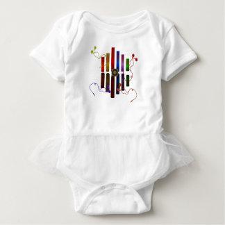 Body Para Bebê Energia do som