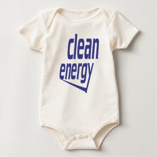Body Para Bebê Energia limpa