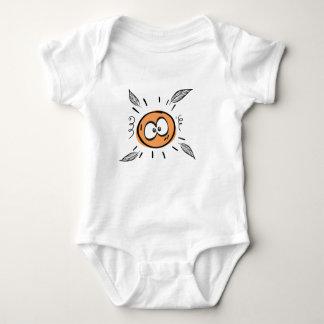 Body Para Bebê engraçado ensolarado
