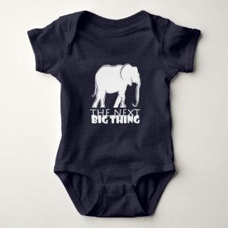 Body Para Bebê Engraçado legal da silhueta grande seguinte do