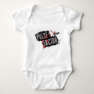Body Para Bebê Engrenagem da tevê do fator do pulso