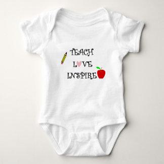 Body Para Bebê ensine o amor inspiram