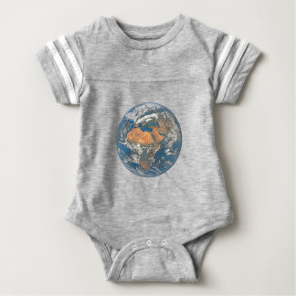 Body Para Bebê Enterre a vista focalizada no berço da civilização