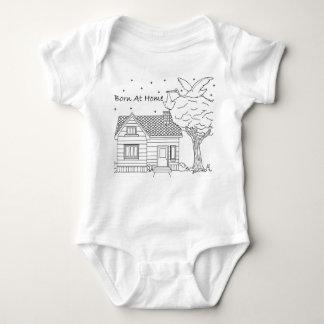 Body Para Bebê Entrega da cegonha do nascer em casa