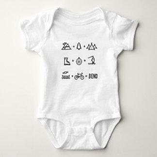 Body Para Bebê Equação das atividades exteriores de Oregon da