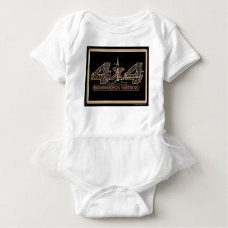Body Para Bebê equipamento 4X4 acima de Camo