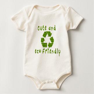 Body Para Bebê Equipamento amigável do bebê dos miúdos de Eco