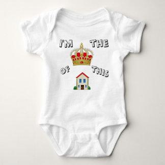 Body Para Bebê Equipamento da rainha do bebê