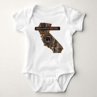 Body Para Bebê EQUIPAMENTO de Califórnia ACIMA de CAMO