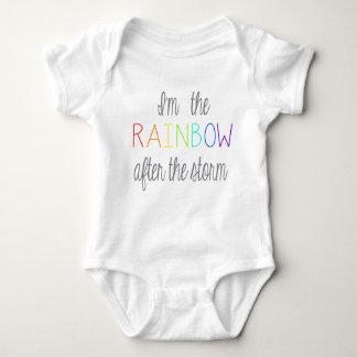 Body Para Bebê Equipamento do bebê do arco-íris