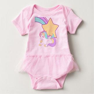 Body Para Bebê Equipamento do bebé do unicórnio