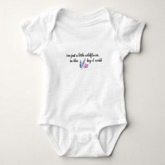 Body Para Bebê Equipamento do bebê do Wildflower