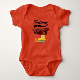 Body Para Bebê Equipamento futuro da escavadora do trabalhador da