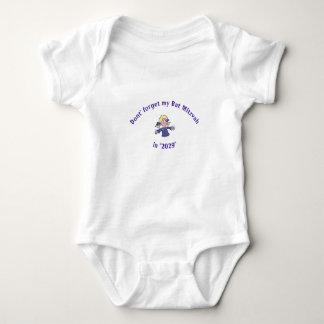 Body Para Bebê EQUIPAMENTO INFANTIL 3-SNAPS da MENINA do BASTÃO