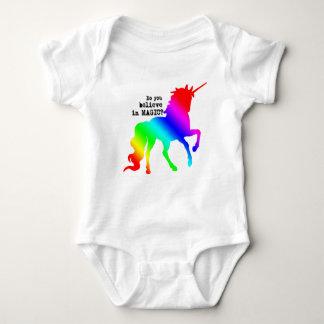 Body Para Bebê Equipamento mágico do unicórnio para bebês