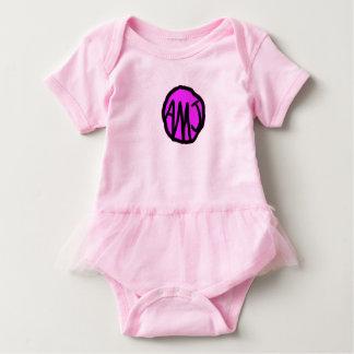 Body Para Bebê Equipamento Monogrammed customizável do bebê