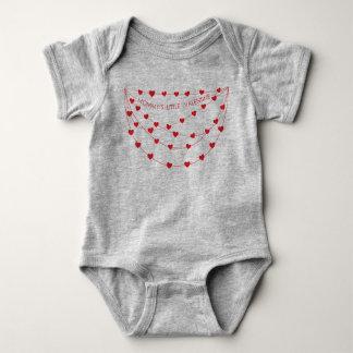 Body Para Bebê Equipamento pequeno do dia dos namorados dos